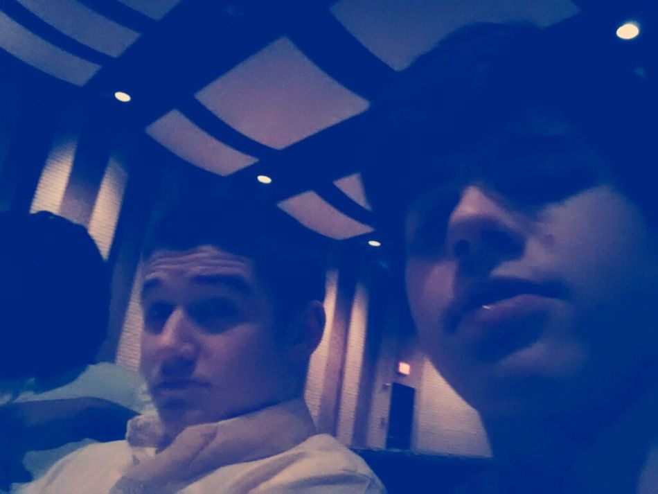 Chillin In Theatre With My Nigga Baylor!