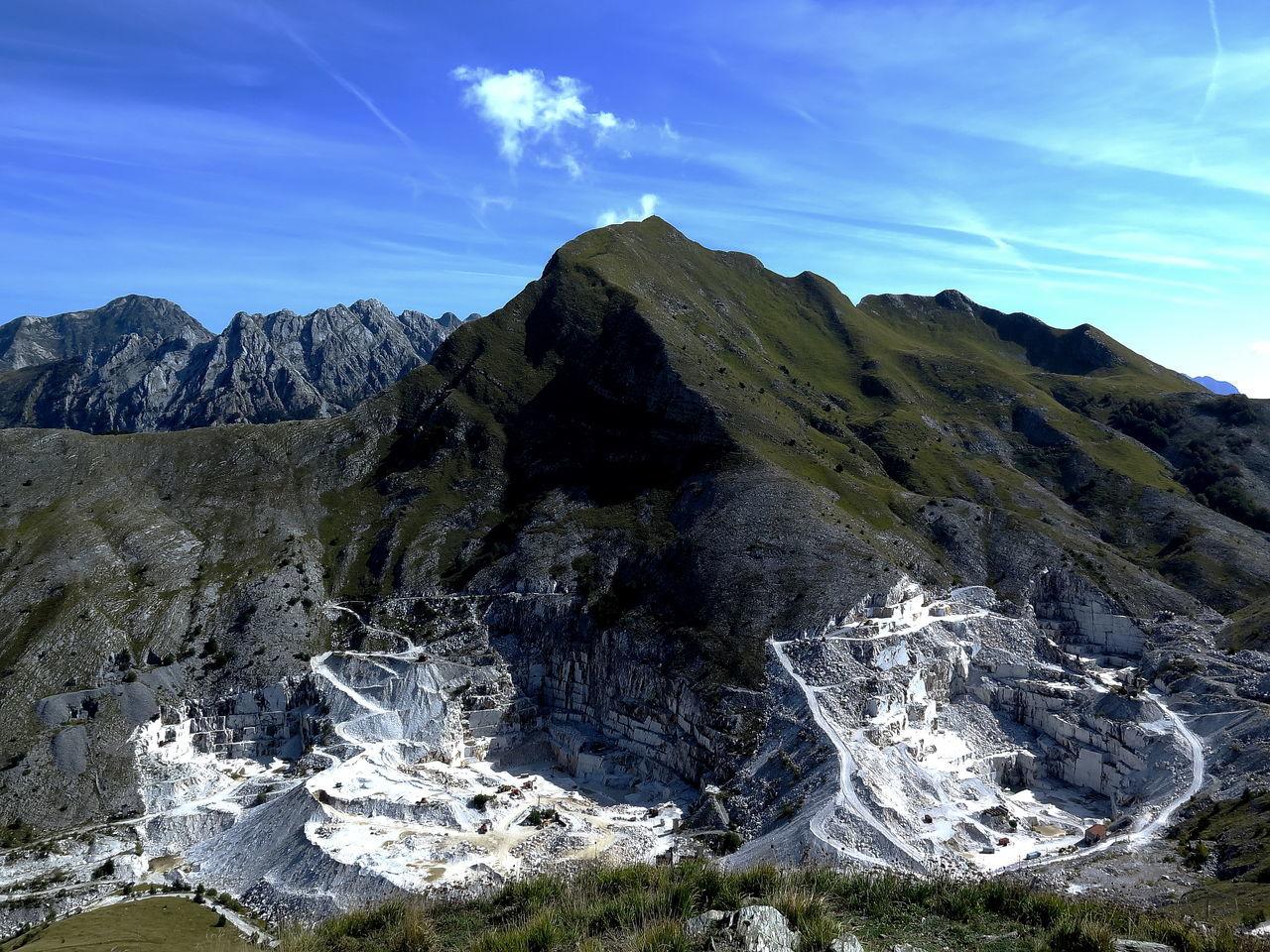 Alpi Alpi Apuane Apuane Apuane Mountains Cave Marble Mine Mine Tuscany