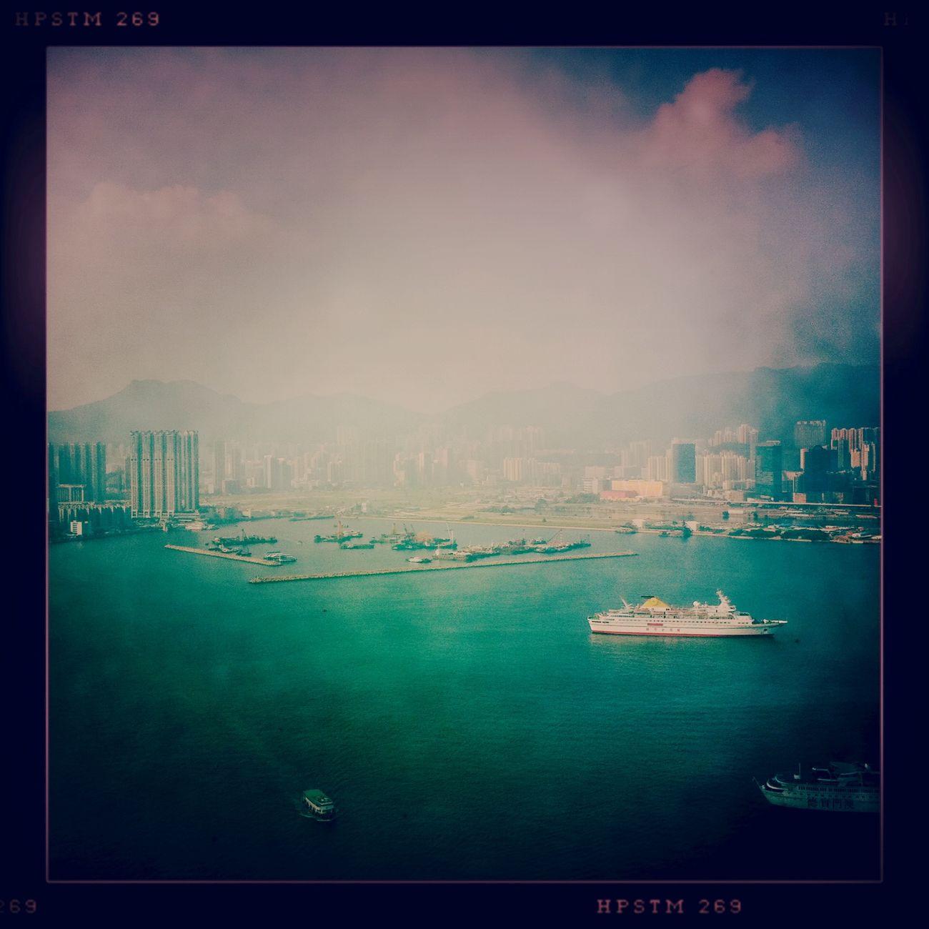Boarding at Hung Hom Ferry Pier 紅磡渡輪碼頭 No Flash Pistil Film Boarding