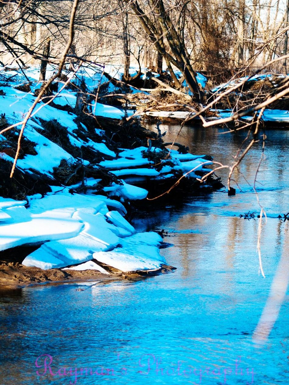 Down By The Creek Winter Creek Getolympus Olympus Ilovephotography The Photographer Enjoying Nature Photographer Photography Is My Escape From Reality! Photography Photo♡ Nature Naturelovers Connected With Nature Beauty In Nature Beautiful Nature Nature Photography
