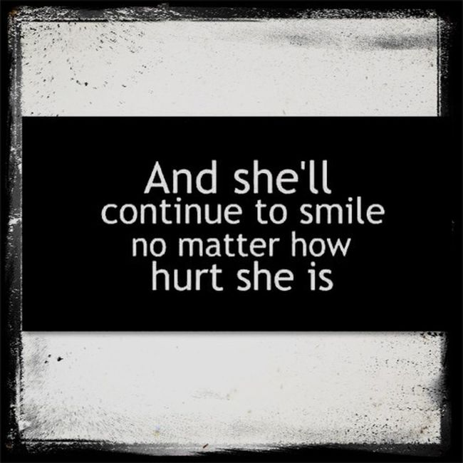 The true story. Smile Smilingthroughthepain Strong