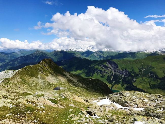 Snowcapped Mountain Alps Mountain Landscape Nature Sky Holiday Range Beauty In Nature Adventure Peak No People Outdoors