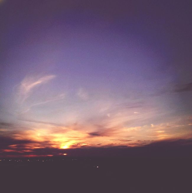 Nice sunset coming up Sunset