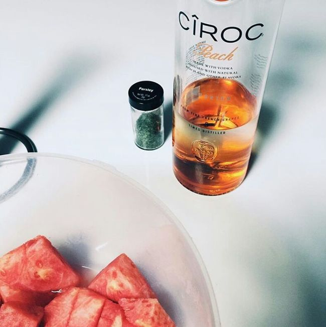 Add me on instagram @xcivzoe Relaxing Enjoying Life Ciroc Peach Weed Life Watermelon Mood Ineedthis First Eyeem Photo
