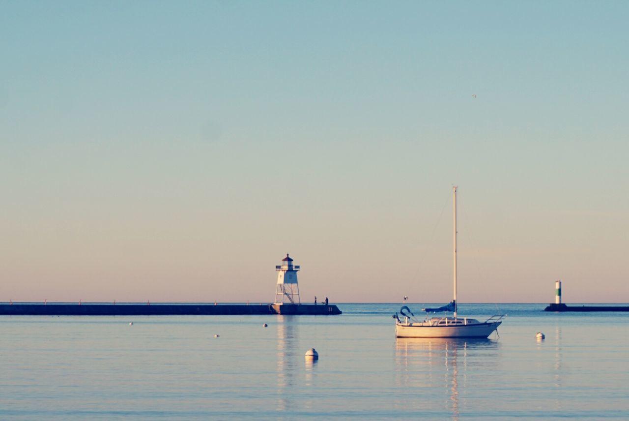 Beautiful stock photos of sonnenaufgang, nautical vessel, sea, transportation, water