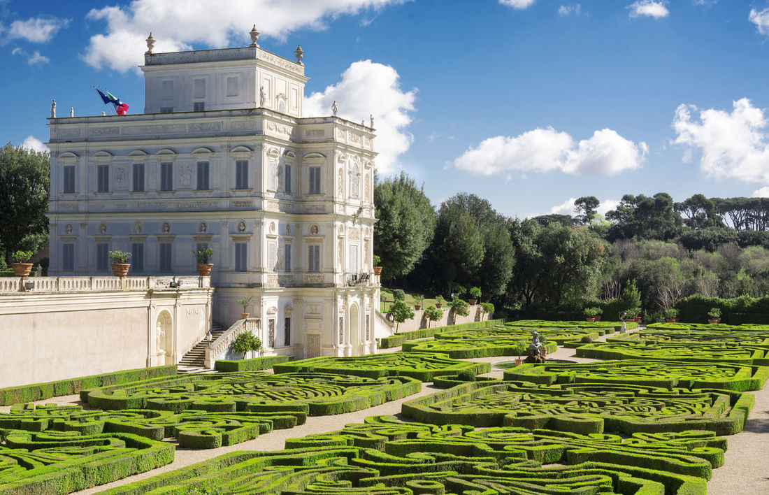 Exterior Rome Sky And Clouds Tourist Attraction  Architecture Building Day Garden History Landscape No People Outdoor Outdoors Secret Garden Sky Tourism Tree Villa Pamphili