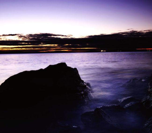 Day break Day Break Ocean Sea Long Exposure Night Sunrise