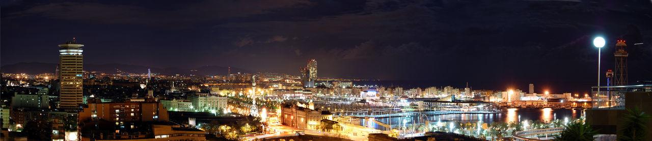 Catalunyaexperience Catalunya Catalonia Barcelona Portbarcelona Night