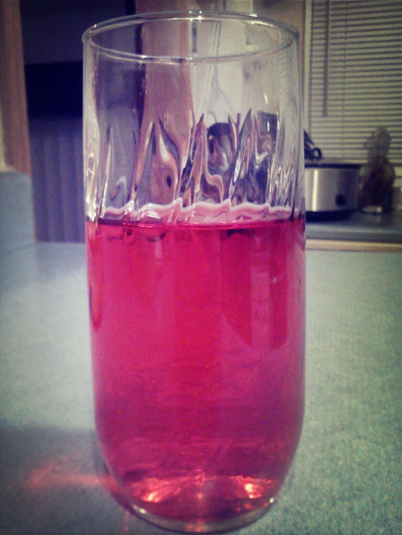 My glass of cold kool-aid!!!