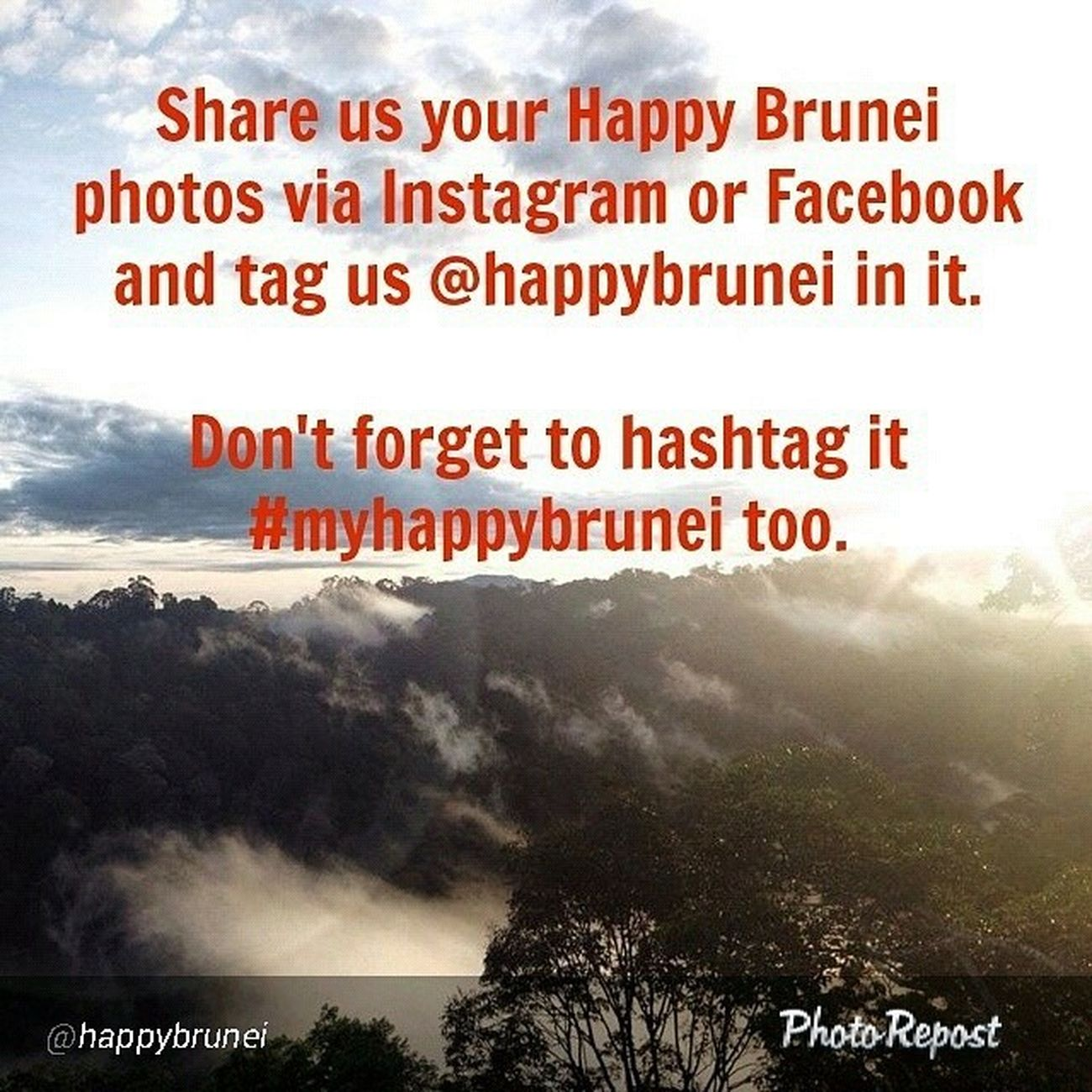 """By @happybrunei """"So what is Happy Brunei to you? Share it with us and we'll spread the love for all to see. Tag us on IG or you can Inbox us via our FB page at facebook.com/wearehappybrunei Myhappybrunei Wearehappybrunei HappyBrunei Brunei """" via @PhotoRepost_app"""