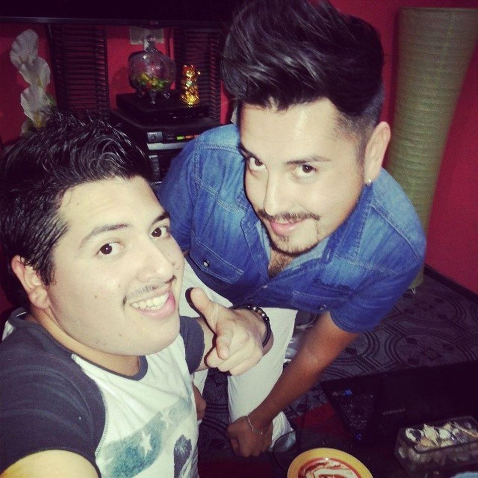 Preparados para Carretiar en Santiago @ClubDivino con @Rickyestilista