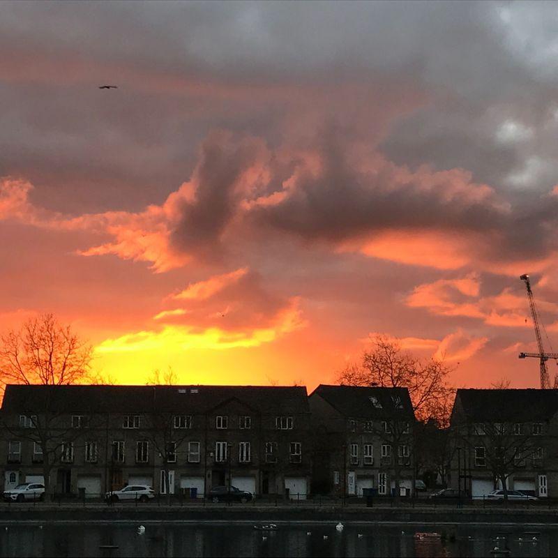 Sunshine London Mornings Sky No People Life Is Beautiful