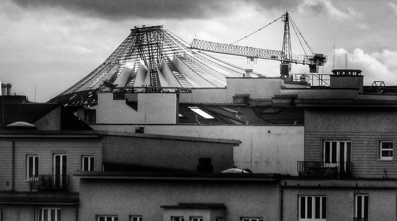 Dächerlabyrinth Blackandwhite Berlin Cityscapes Monochrome