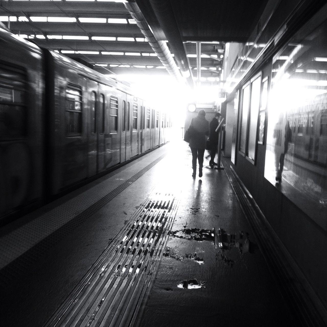 Going To Work Public Transportation NEM Submissions NEM Black&white