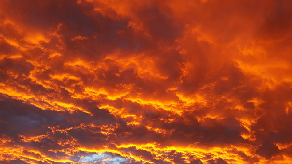 Heat - Temperature Orange Color Red Dramatic Sky Nature No People Sky Sunset_collection Sunset Flame Shiny Star - Space Outdoors