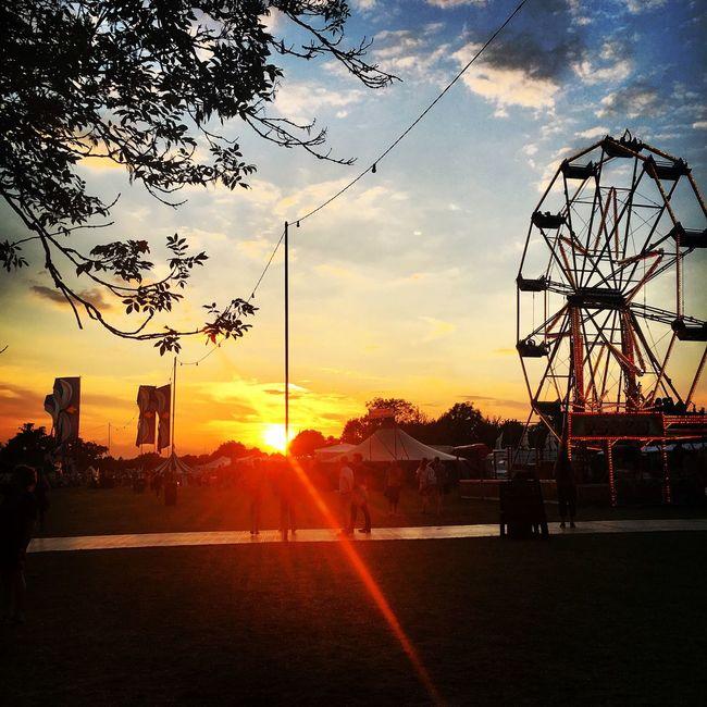 Secret Garden Party SGP SGP2016 Summer Festival Sunset July Ferris Wheel Music Friends Happiness