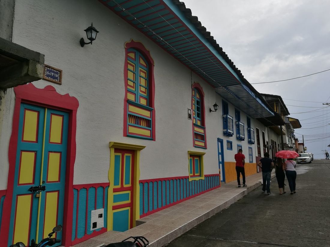 Filandia Colombia Eje Cafetero Rural Scene Travelling Live In Colombia Outdoors Building Exterior Architecture Tranquil Scene Colombian Coffee Tranquility Eje Cafetero In Colombia Relaxing Moments