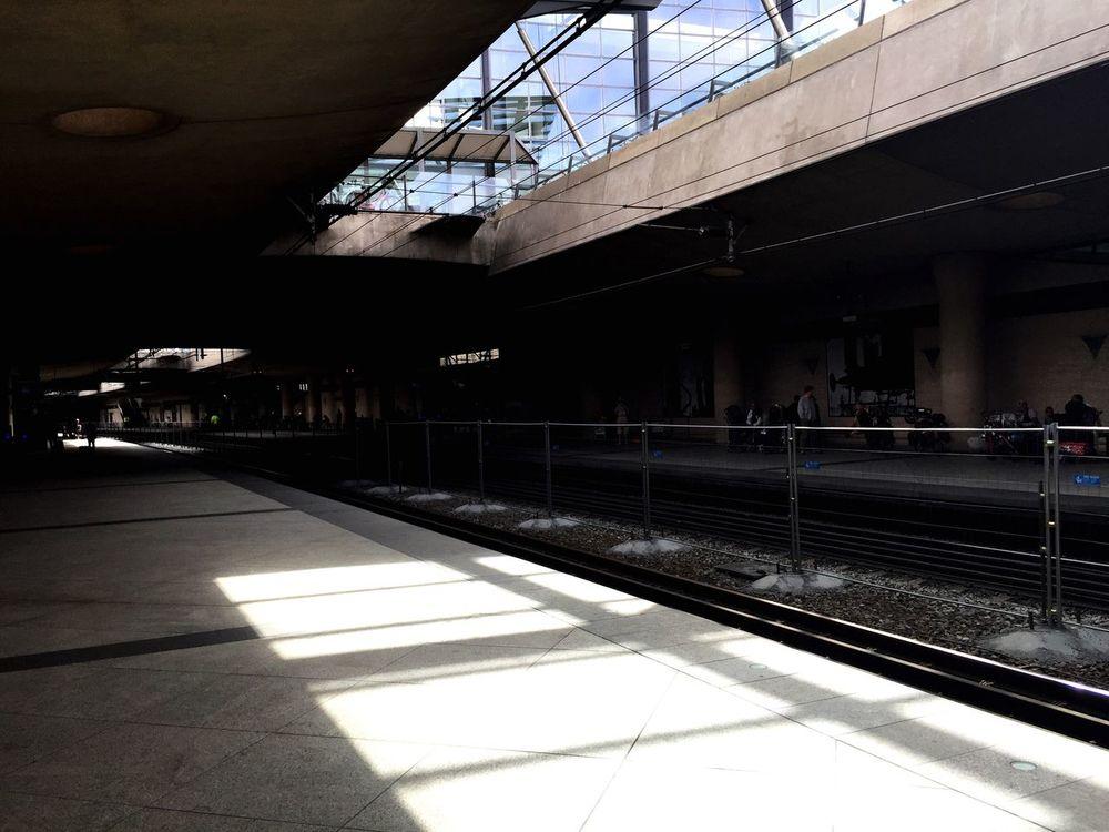 Train Station Public Transportation Train Tracks