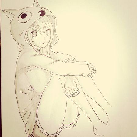 Fairy Tale Lucy Heartifilla Manga Drawing Draw Art Anime رسوماتي Artist Natsu