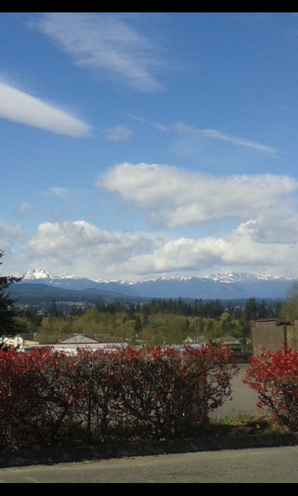 My Hometown Taking Photos Galaxy Ace Samsung Galaxy Camera Unedited The Purist Kitsap Peninsula Washington State Pacificnorthwest Olympic Mountains Mountain View Port Orchard Washington Enjoying Life Sky And Mountains Drivebyphotography Clouds And Sky Snowy Mountains