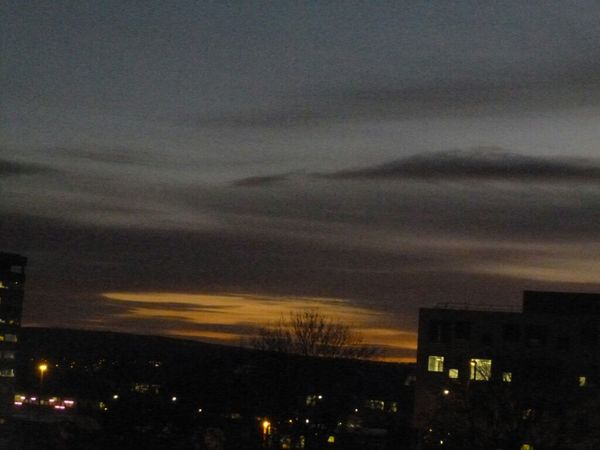 Sunset Sky Night Fall