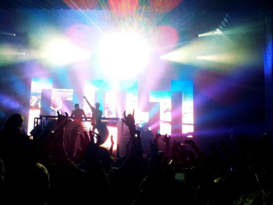PantyRaid at Fillmore Auditorium by axamirault