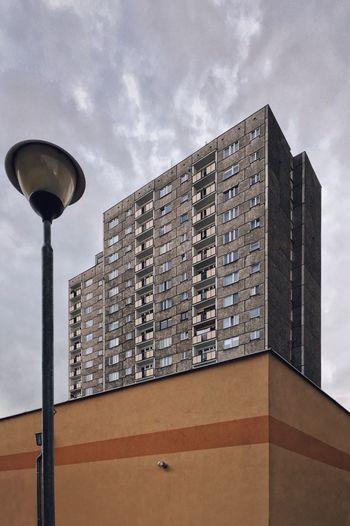 Architecture Building Exterior Block Modernism Plattenbau Minimal Rough Texture Sky And Clouds The Secret Spaces The Architect - 2017 EyeEm Awards
