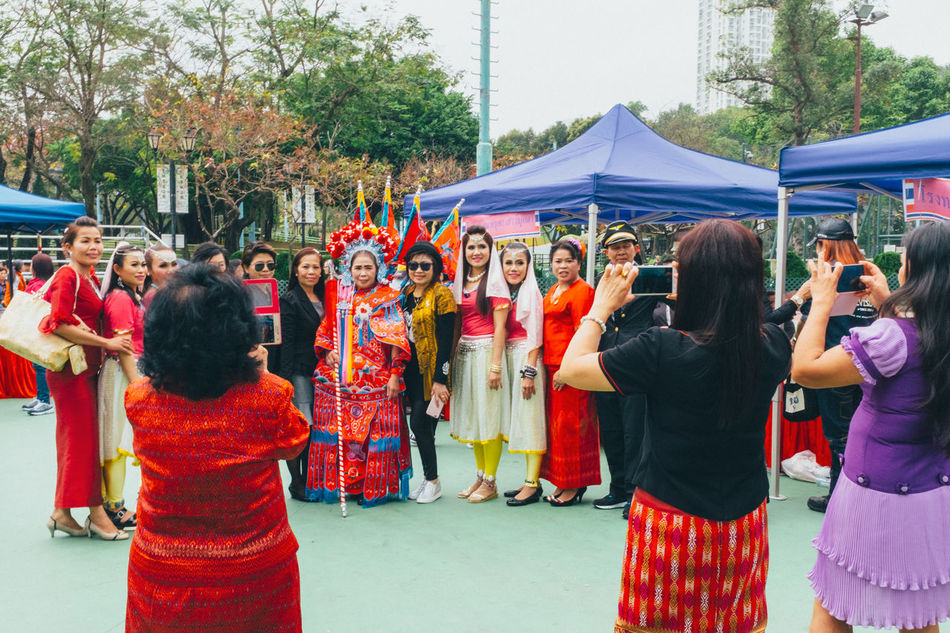 International Women's Day Large Group Of People Mobile Conversations Parade Women Women Around The World EyeEm Diversity