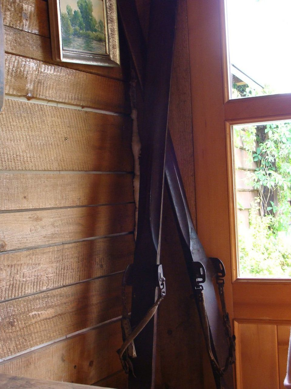 window, indoors, day, wood - material, curtain, no people, low section, close-up