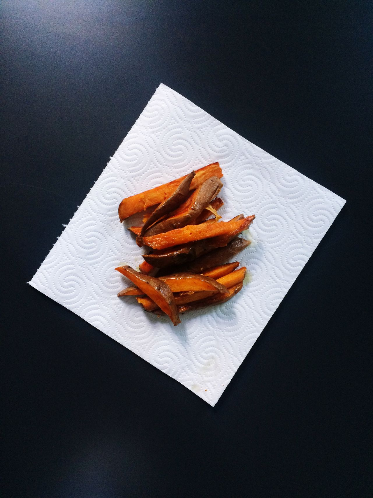 Sweet Potato Fries Still Life No People Food Food And Drink Plate High Angle View Indoors  Freshness Ready-to-eat Unhealthy Eating Chicken Wing Close-up Day