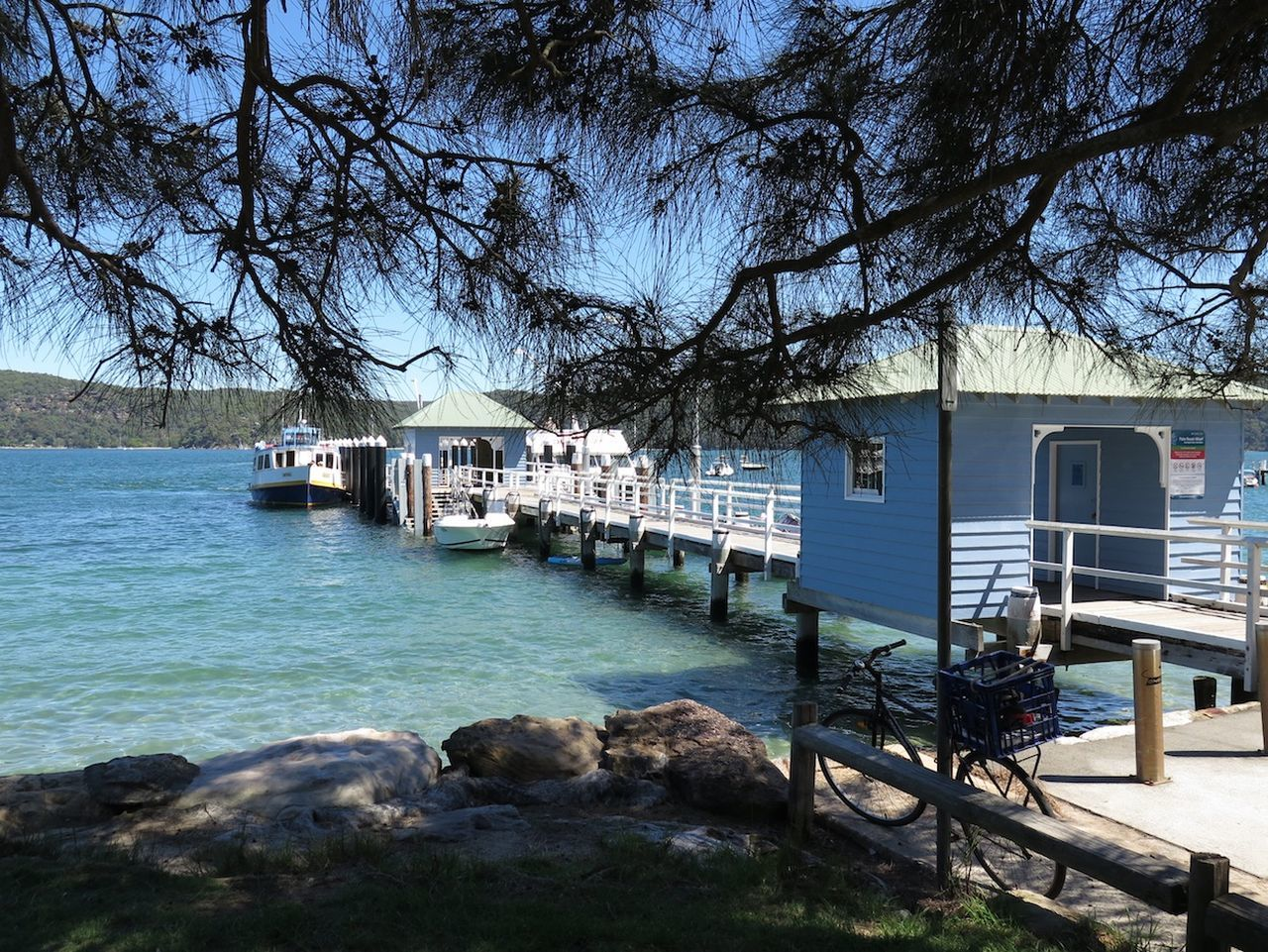 Australia Australian Beauty Palm Beach Wharf Pier Australia & Travel Boat Trip