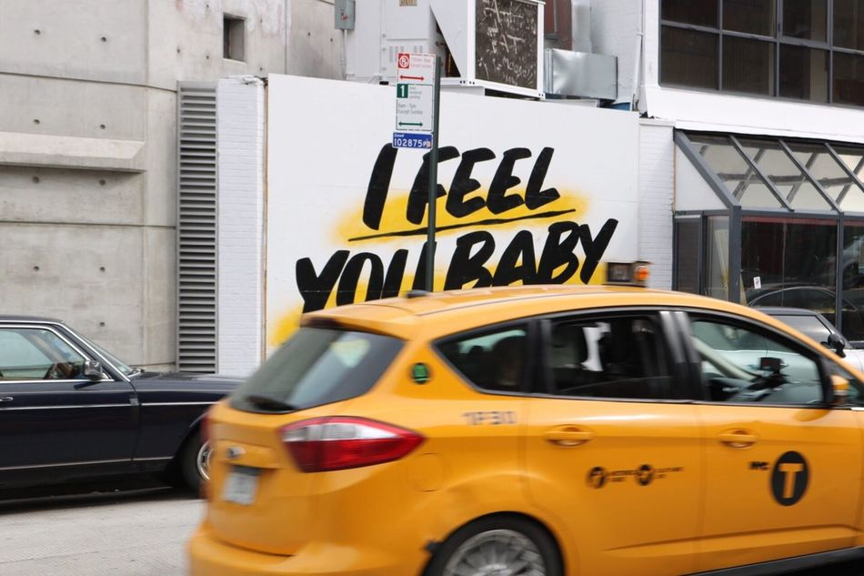 in New York the meter is always running.. Car Transportation Mode Of Transport Land Vehicle Yellow Stationary Building Exterior Outdoors Architecture Built Structure Day City Yellow Taxi NYC Street Cab Driver Fastlane Fastlife Mylens