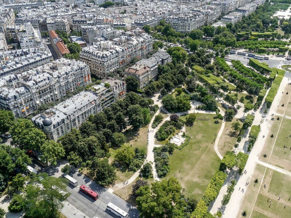 Flying High High Angle View Tree Outdoors Day Aerial View Architecture City Paris People Photography Busy People