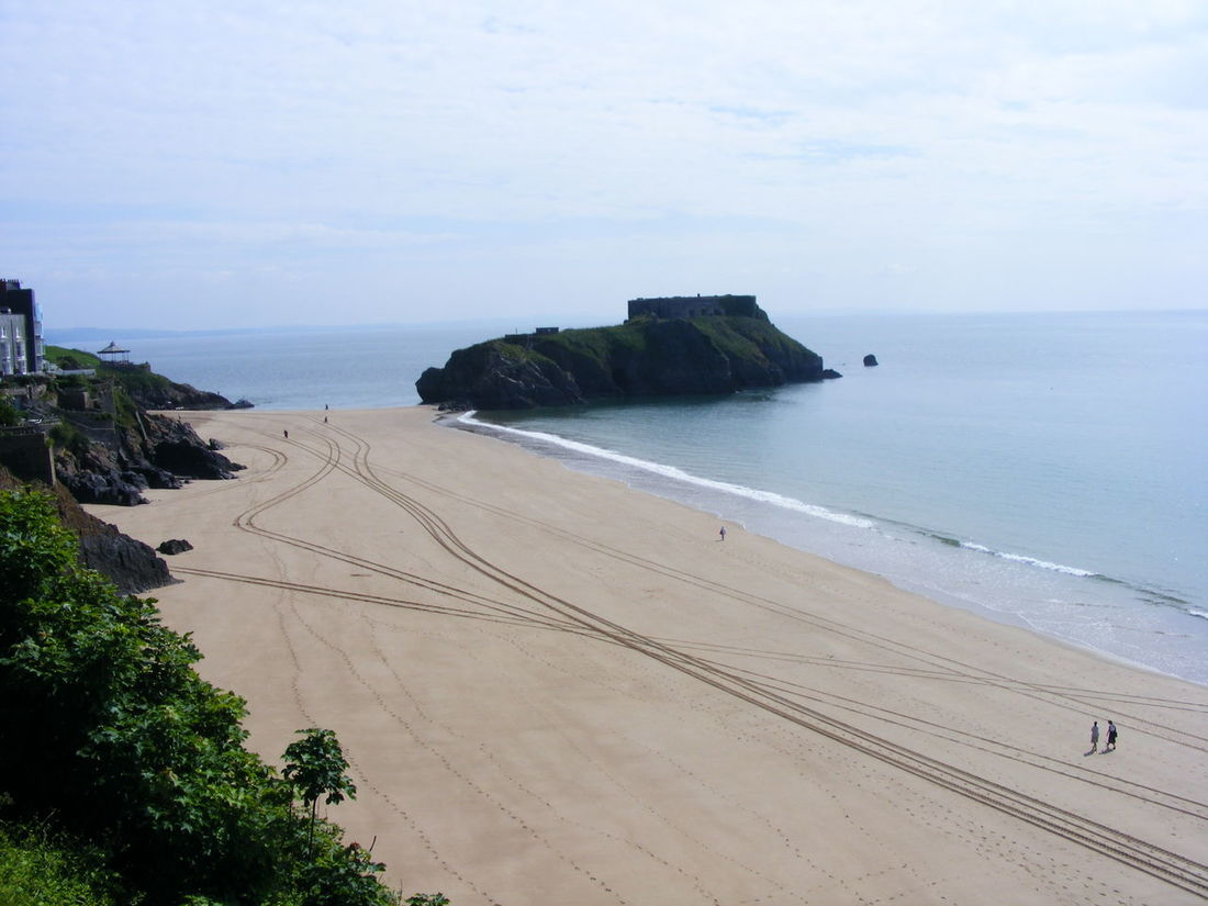 Beach Beaches Beauty In Nature Horizon Over Water Nature Outdoors Sand Scenic Scenic View Scenics Sea Sea And Sky Sky South Wales South Wales Coast Tenby Tenby, Pembrokshire Tranquil Scene Tranquility Water