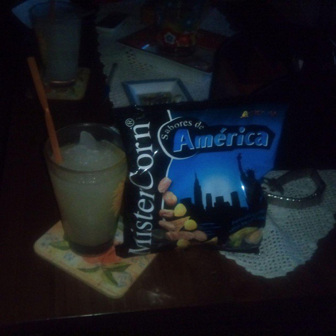 Lemonade and Mister Corn.