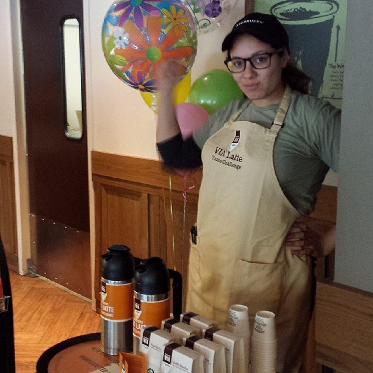 Viatastechallange Pleasedonthateme Loveyoushaun Starbucks baristalife