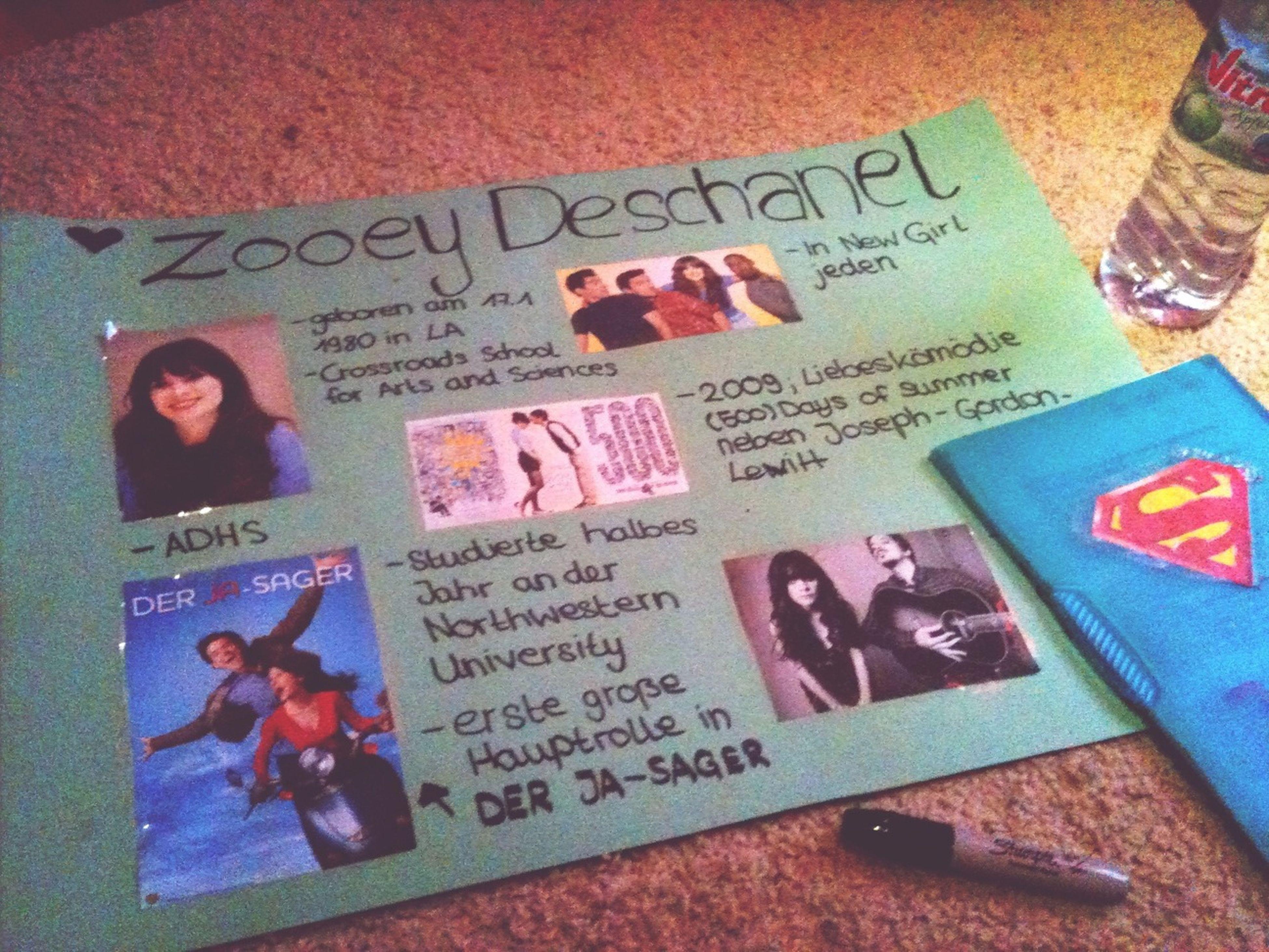 Ready for today ✌ Zooey Deschanel Love