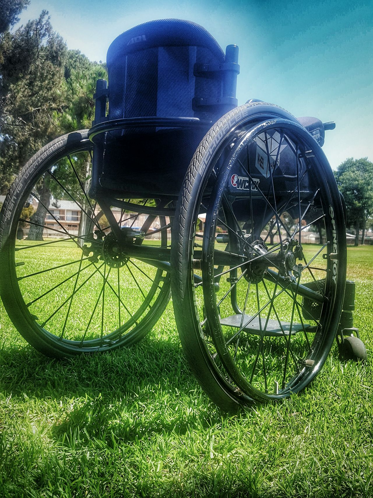 The Black Beast AKA My Everyday Rolling The Gimpin and Pimpin Lifestyle Chair Wheelchair Mobility Disabled Disability Not Inability Disabledveteran Lifestyles Gimpin-and-Pimpin That's Me Perspective ForTheLoveOfPhotography Eye4photography  Boxwheelchairs From My Point Of View Eyeemphotography Parks City Parks Outdoors EyeEm Nature Disabled Person Rolemodel Rollmodel