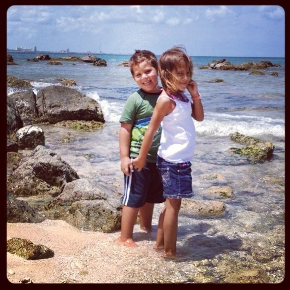 "My #""twins""#sea#aruba"
