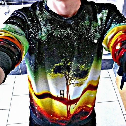Space Tree Sweather Sweatshirt