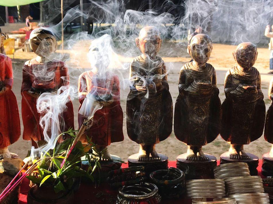 Myanmar Burma Burmese South East Asia Souvenir Monks Inle Lake Inlay Taunggyi Nyaungshwe Travel Souvenirs Buddhist Statue