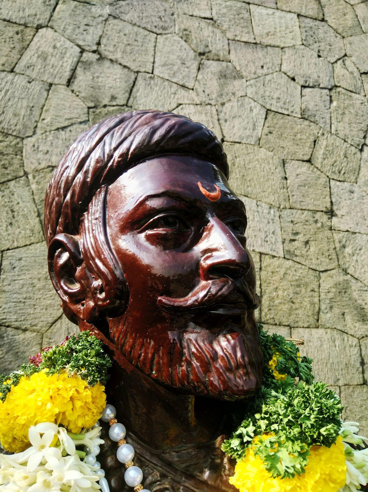 Respect Shivaji Maharaj ShivJayanti University Campus Pune India Mobilephotography