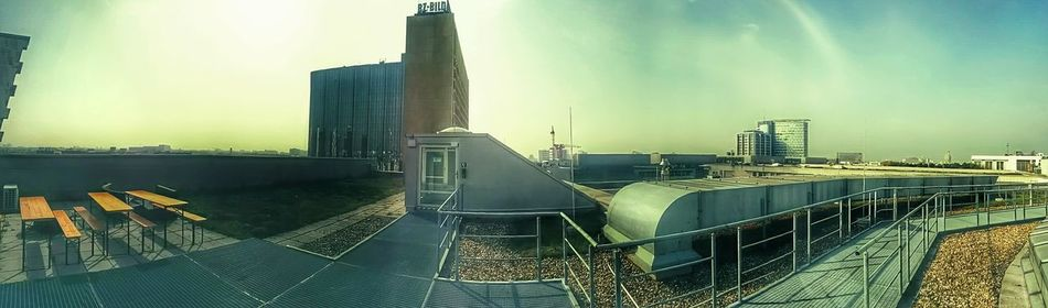 Berlin Rooftop @work