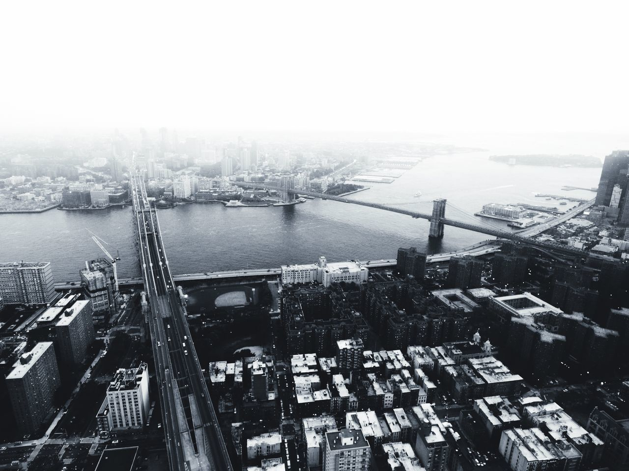 So lately I've been putting a lot of work into producing more video content, so apologies for the lack of posting here! Go check out my YouTube channel to see what's been going on, and let me know what you think! ✌🏽️ Architecture Dronephotography Dji New York NYC Aerial Photography Blackandwhite Monochrome