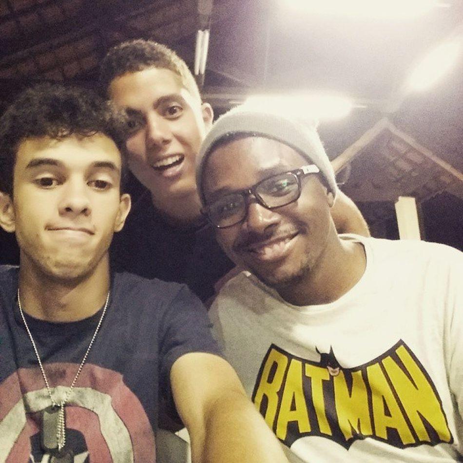 Essa mulekada é show! Marvel Bc Amigos Retiro2015 Happy Instangood Selfie Batman Ironman CapitaoAmerica Geek Comics