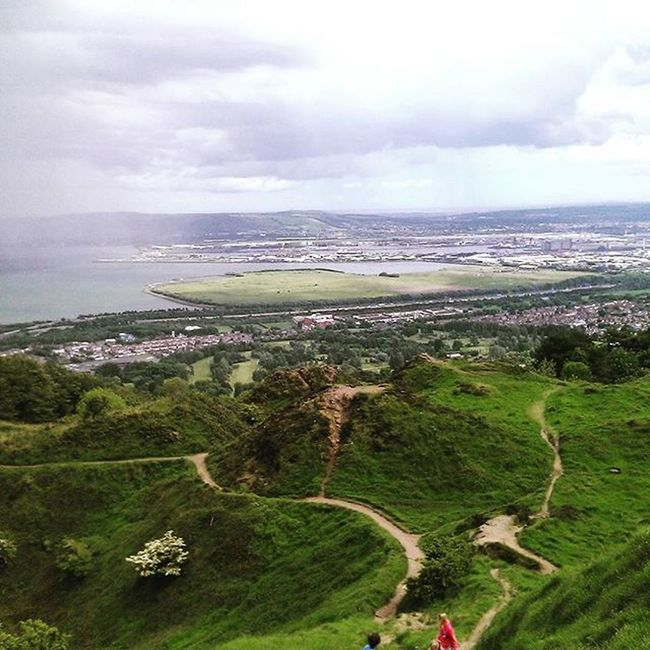 BELFAST - CAVE HILL Belfast Cavehill Hiking Trip Mountain Travel Cave Hill Hills View Sea YOUTUBE >>> WorldBestTrip Original Experiences Feel The Journey