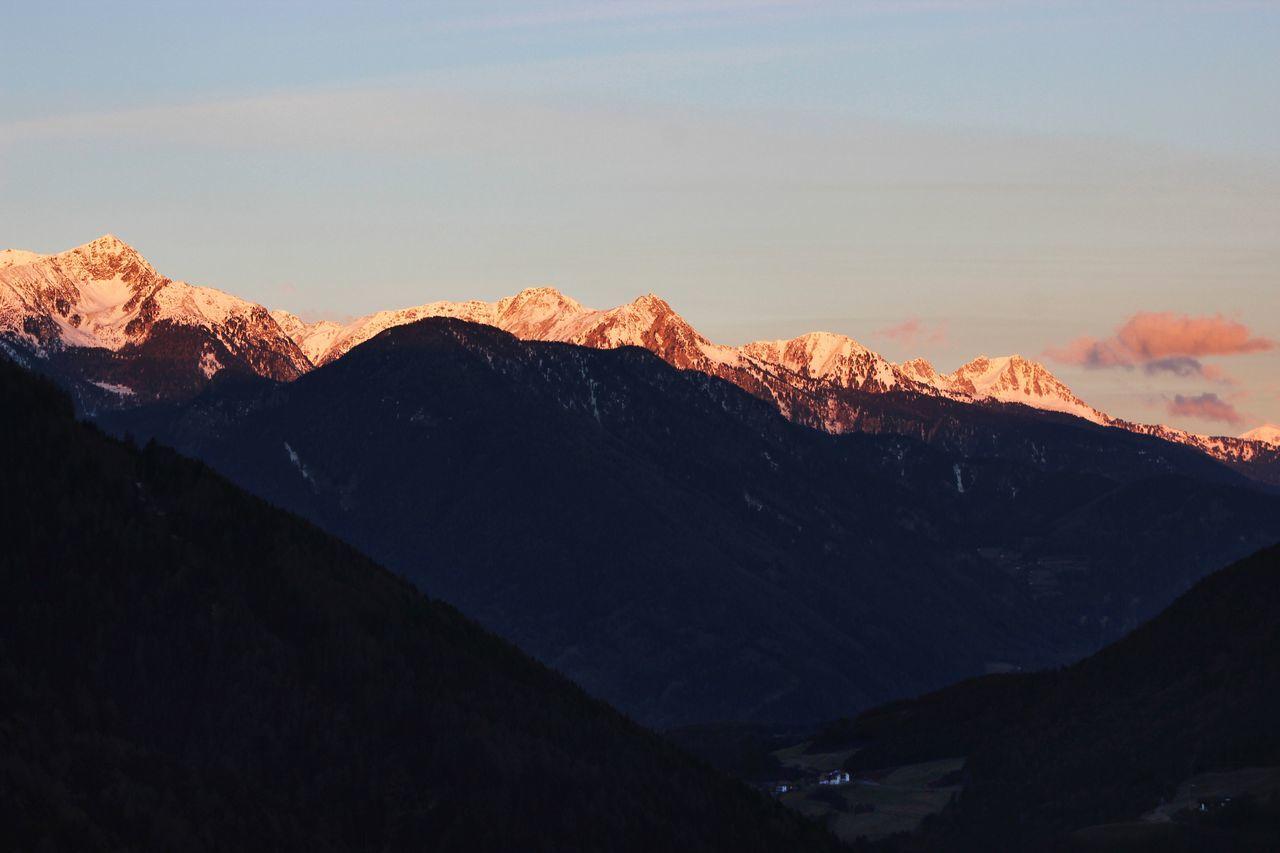 sunrise. Authentic Authentic Moments Bolzano Colorful Europe Explore Hills Italia Italy Liveauthentic Lusen  Mood Moody Moody Sky Morning Morning Light Morning Sky Mountains Nature Orange Sun Sunrise Travel Travel Destinations Traveling