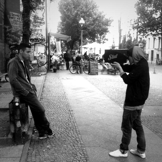 Shooting With Selfmade Camera