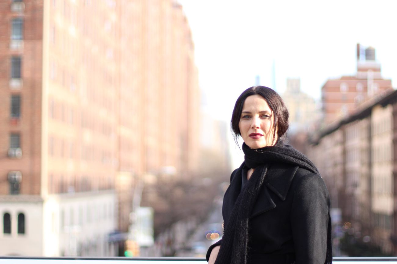 Candid Photography NYC Street Photography High Line Park Woman Portrait