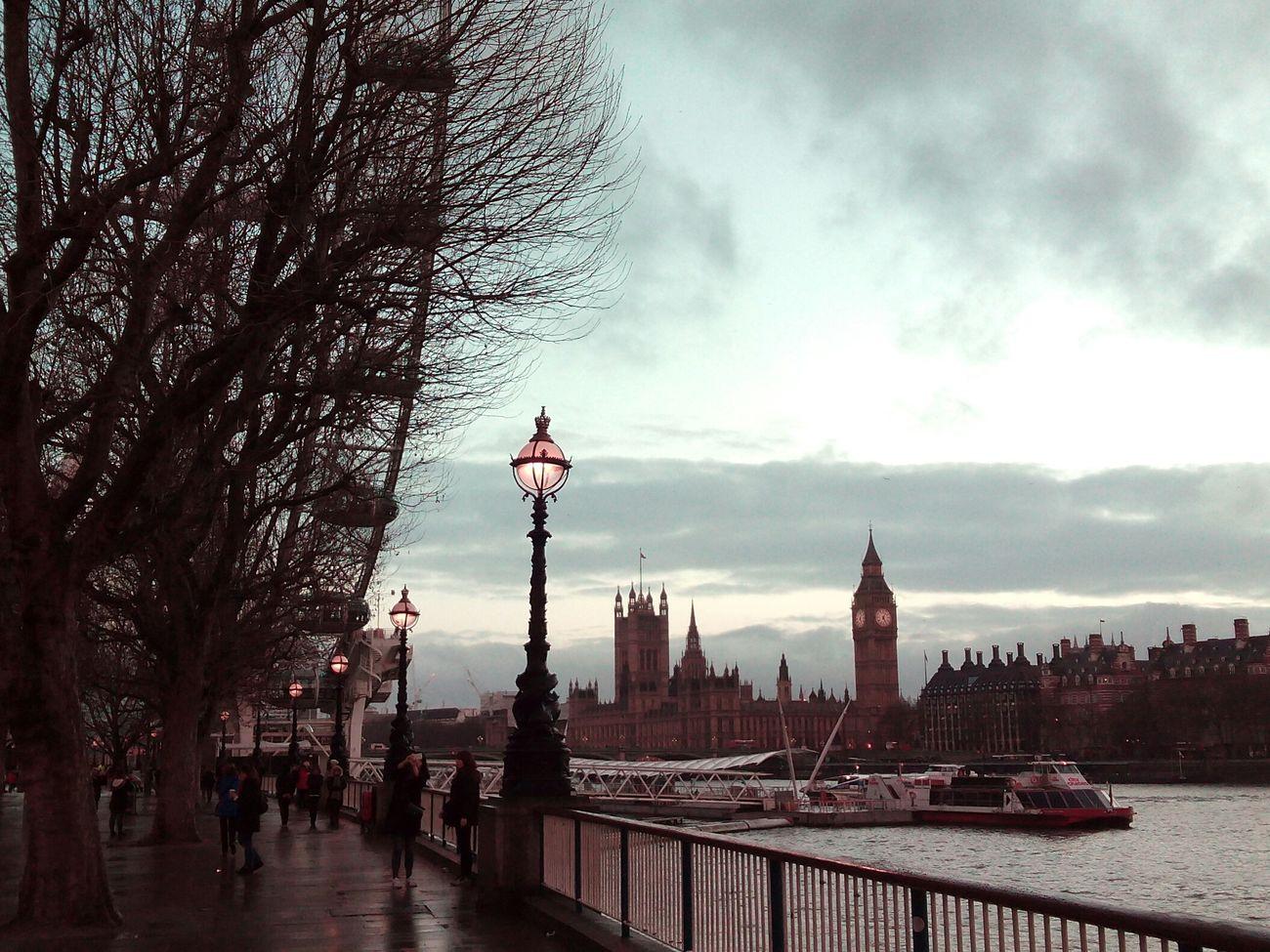 Travel London TheQueensWalk Nofilter London Eye Big Ben